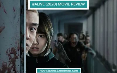 #Alive (2020) Movie Review