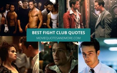 Top 35 Fight Club Quotes