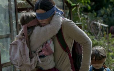 Bird Box New Quotes – 'Please don't take my children!'