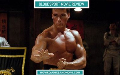 Bloodsport (1988) Movie Review