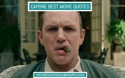 Capone Best Quotes – 'We made a promise.'
