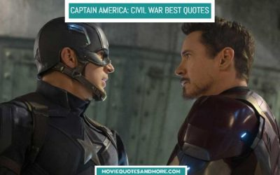 Captain America: Civil War Best Quotes – 'You chose the wrong side.'
