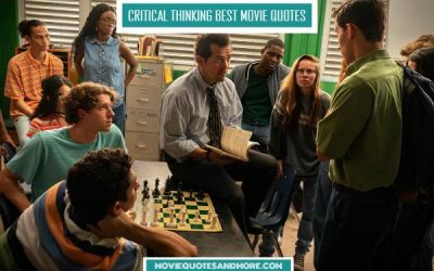 Critical Thinking Best Movie Quotes – 'Chess is the great equalizer.'