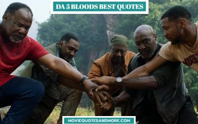 Da 5 Bloods Movie Quotes – 'Being back here, it is not easy.'