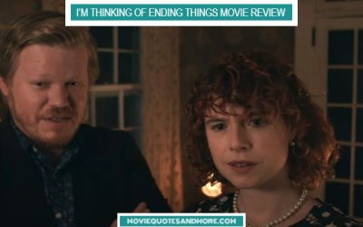 I'm Thinking of Ending Things (2020) Movie Review