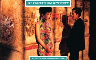 "In The Mood For Love: ""Quizas, Quizas, Quizas"""