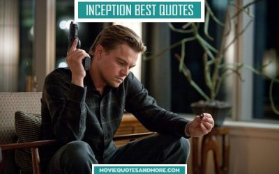 Inception Best Quotes – 'Why is it so important do dream?'