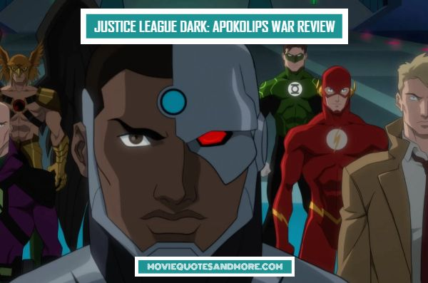 Justice League Dark: Apokolips War (2020) Review