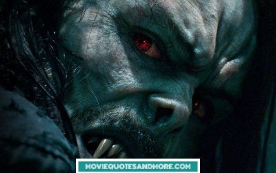 Morbius New Quotes – 'I feel more alive than ever.'