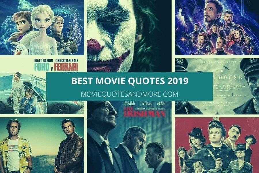 Best Movie Quotes from 2019
