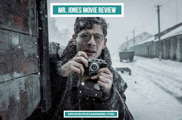 Mr. Jones (2019) Movie Review