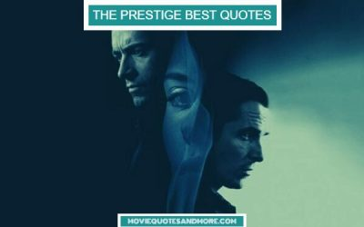 Memorable Quotes from The Prestige