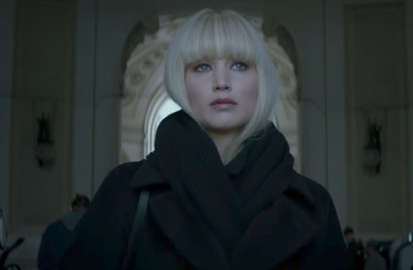 Red Sparrow Best Quotes – 'Young officer trained to seduce and manipulate.'