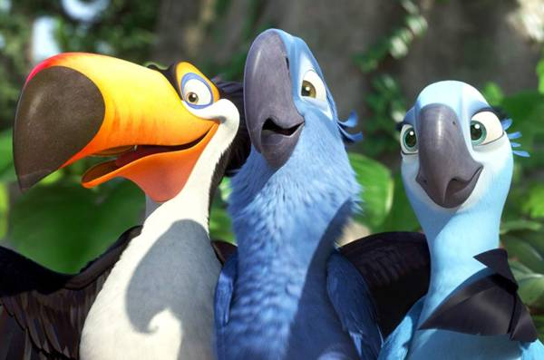Rio Movie Quotes – 'Alright, Blu! You're flying!
